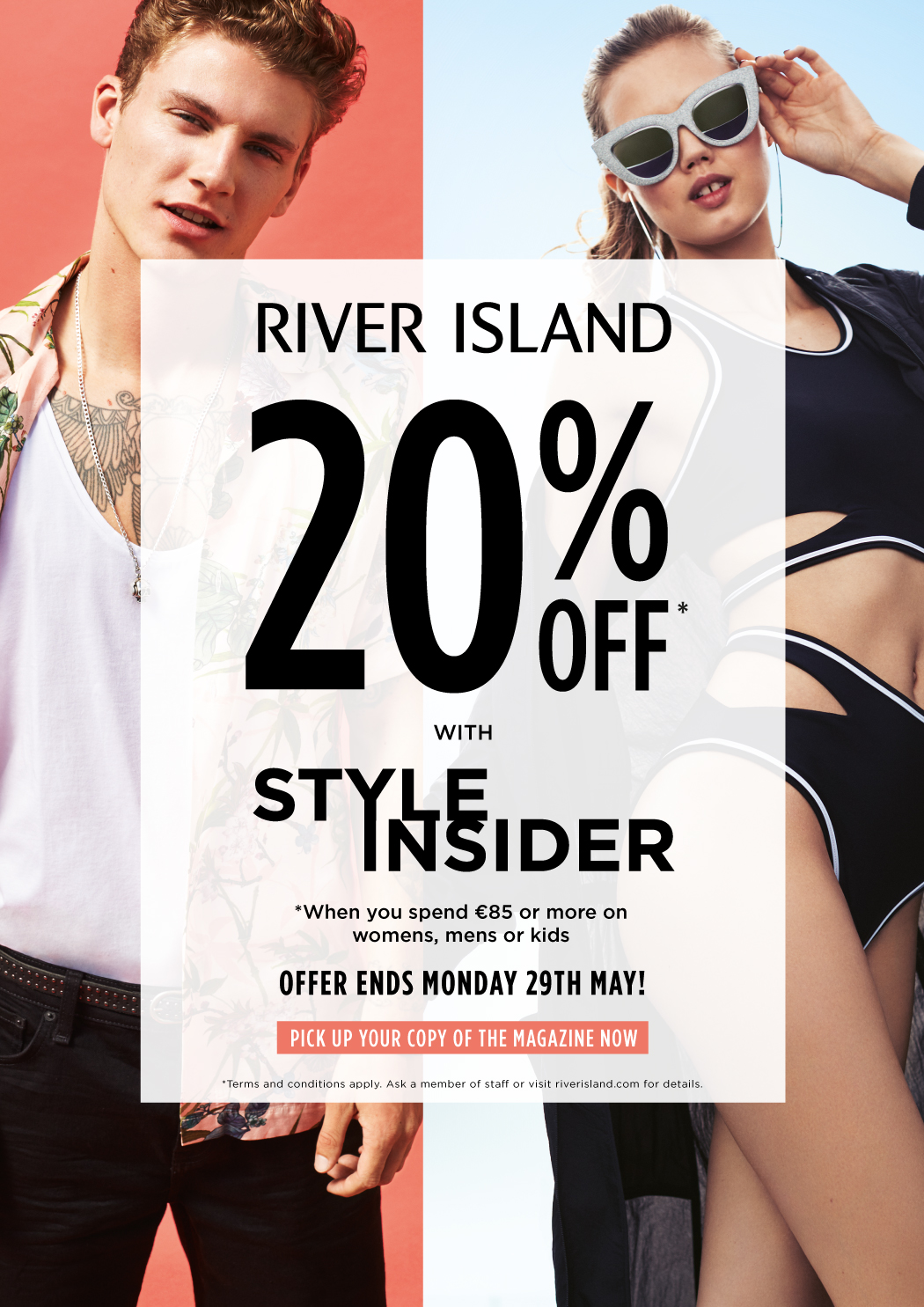 20% off at River Island With Style Insider