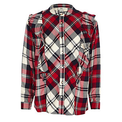 Checked River Island Shirt