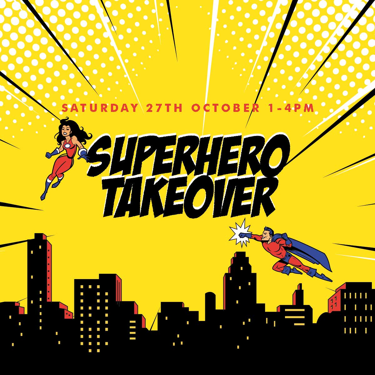 Superhero Takeover at Bridgewater Shopping Centre!