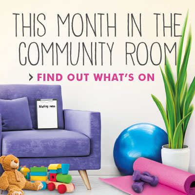 May in the Community Room