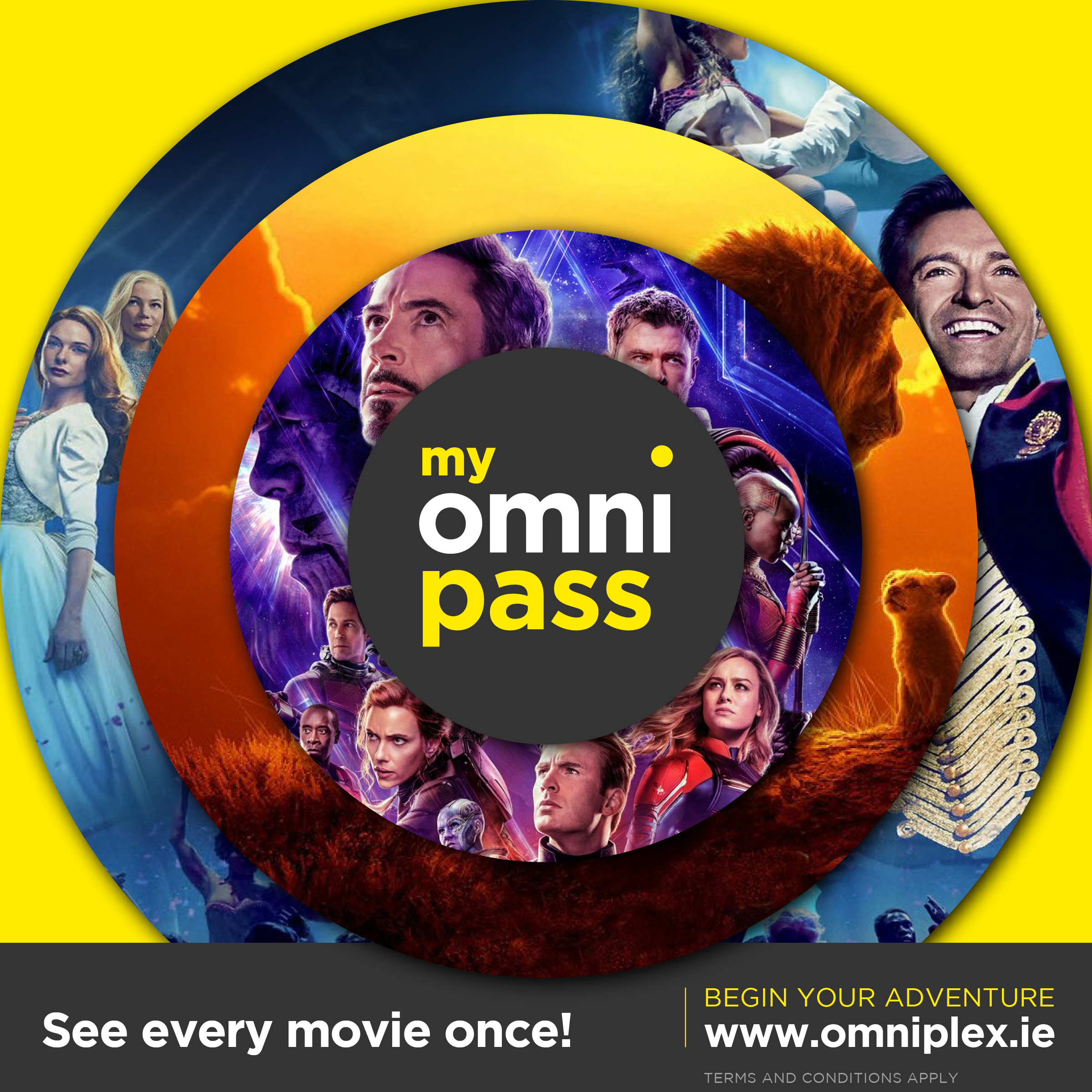 Omniplex Launches MyOmniPass Monthly Subscription!
