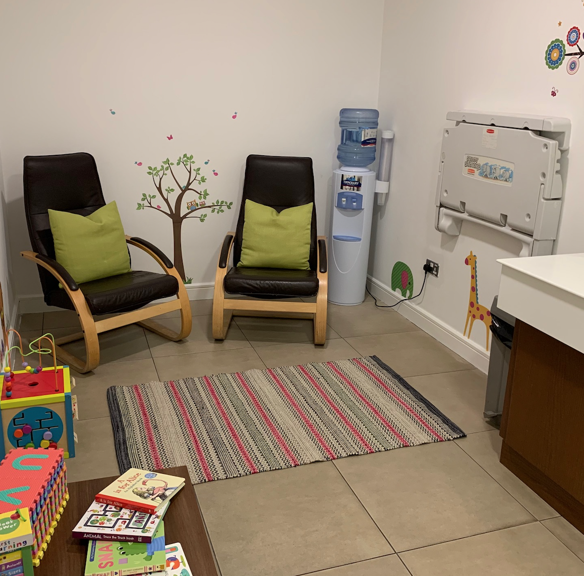 Our Lovely New Parent and Baby Room at Bridgewater is Complete!