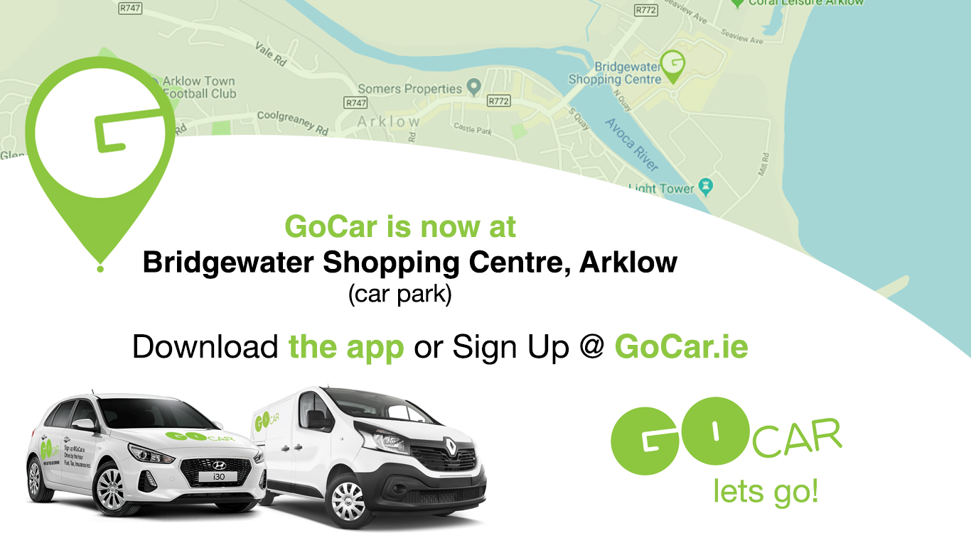GoCar.ie Arrive in Style at Bridgewater Shopping Centre!