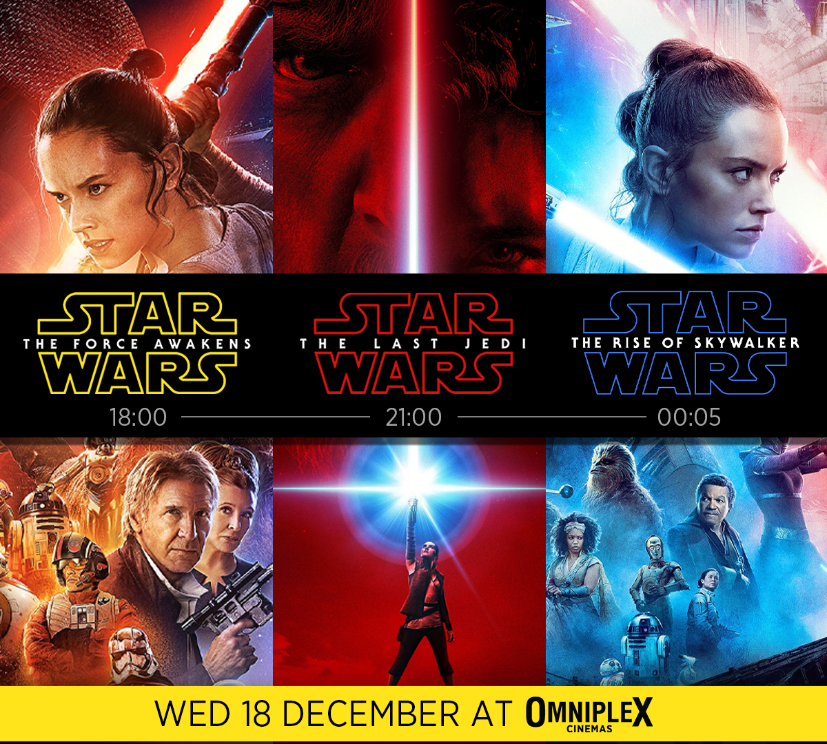 Star Wars Triple Bill   Tickets On Sale Now