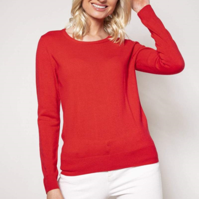 Cew Neck Knit