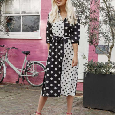 Polkd Dot Dress