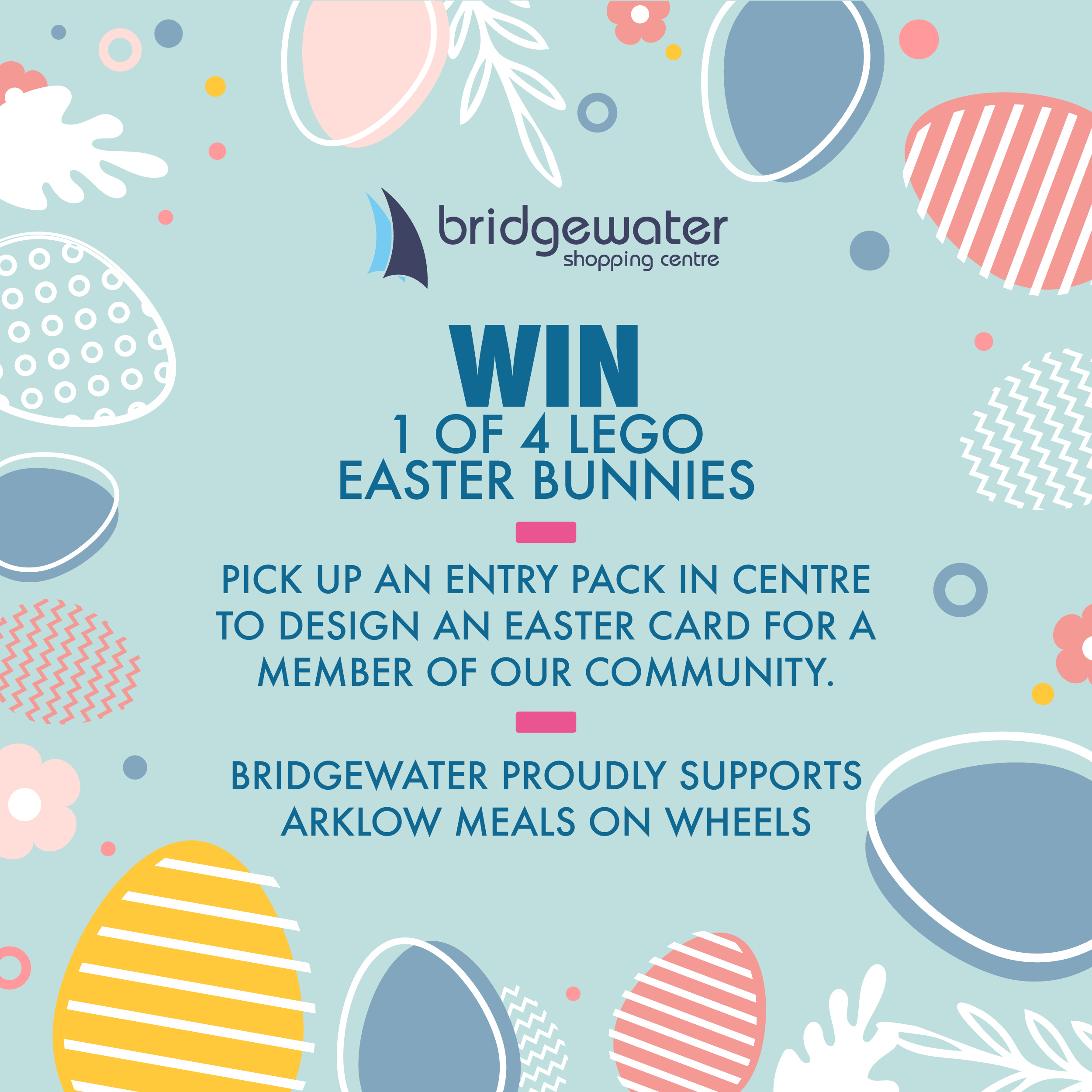 Competition: Win 1 of 4 Easter Lego Bunnies